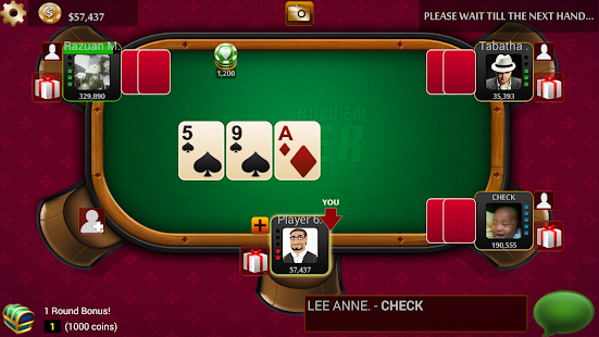 Texas HoldEm Poker LIVE - Free - screenshot thumbnail