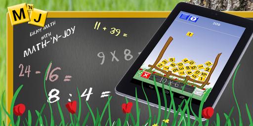 Math-'N-Joy Fun Math Game