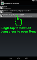 Screenshot of QR Scan Create Edit Print