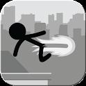 Stickman Rooftop Runner icon