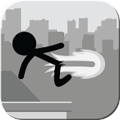 Stickman Rooftop Runner