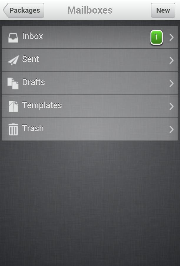 MOVEit Mobile - screenshot