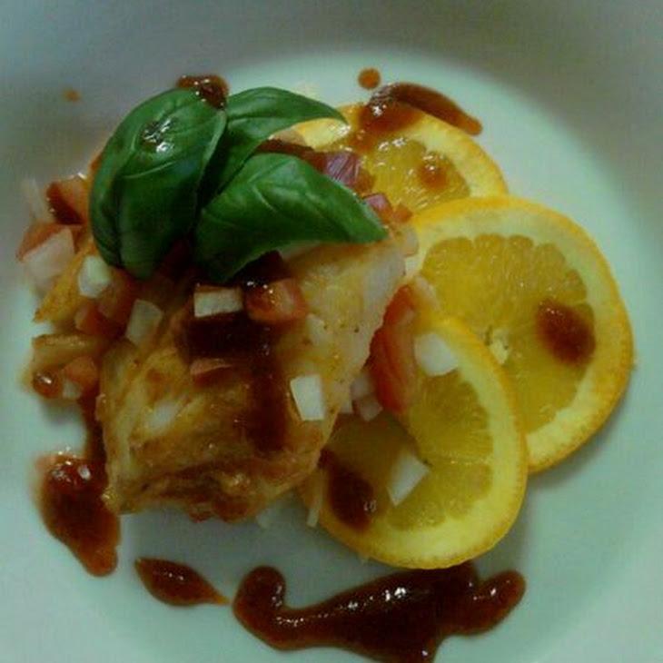 Sriracha-Honey Glazed Cod Recipe
