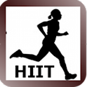 HIIT interval training timer logo