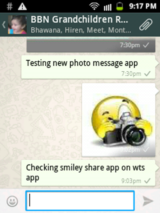 Smiley Share - screenshot