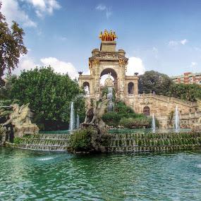 Barcelona by Joanna Holland - City,  Street & Park  Fountains (  )