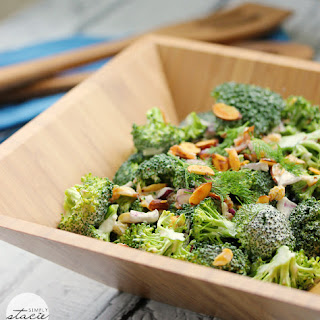 Broccoli Salad With Ranch Dressing Recipes.