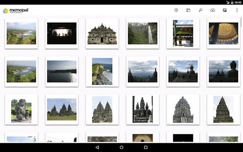 Memopal Online Backup - Tablet - screenshot thumbnail