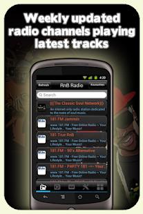 免費音樂App|RnB Radio - With Recording|阿達玩APP