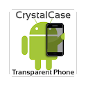 CrystalCase: Transparent Phone logo