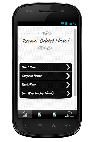 Recover Deleted Photo Guide