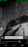 Screenshot of Natural Rain Sounds