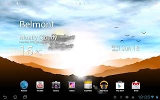 Screenshot of Sunrise Pro Live WP FREE