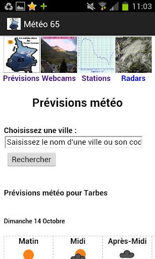Météo Hautes-Pyrénées