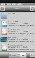 Screenshot of Cloud Portal Office for Phone