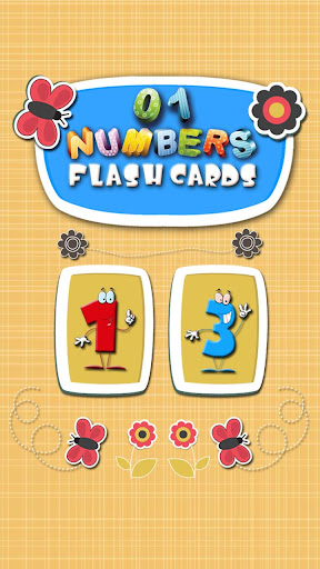 123 Numbers Flashcards 4 Kids