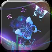 Butterflies Neon LiveWallpaper