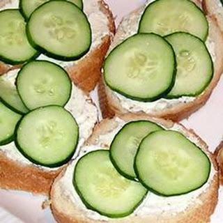 Cucumber Sandwiches II.