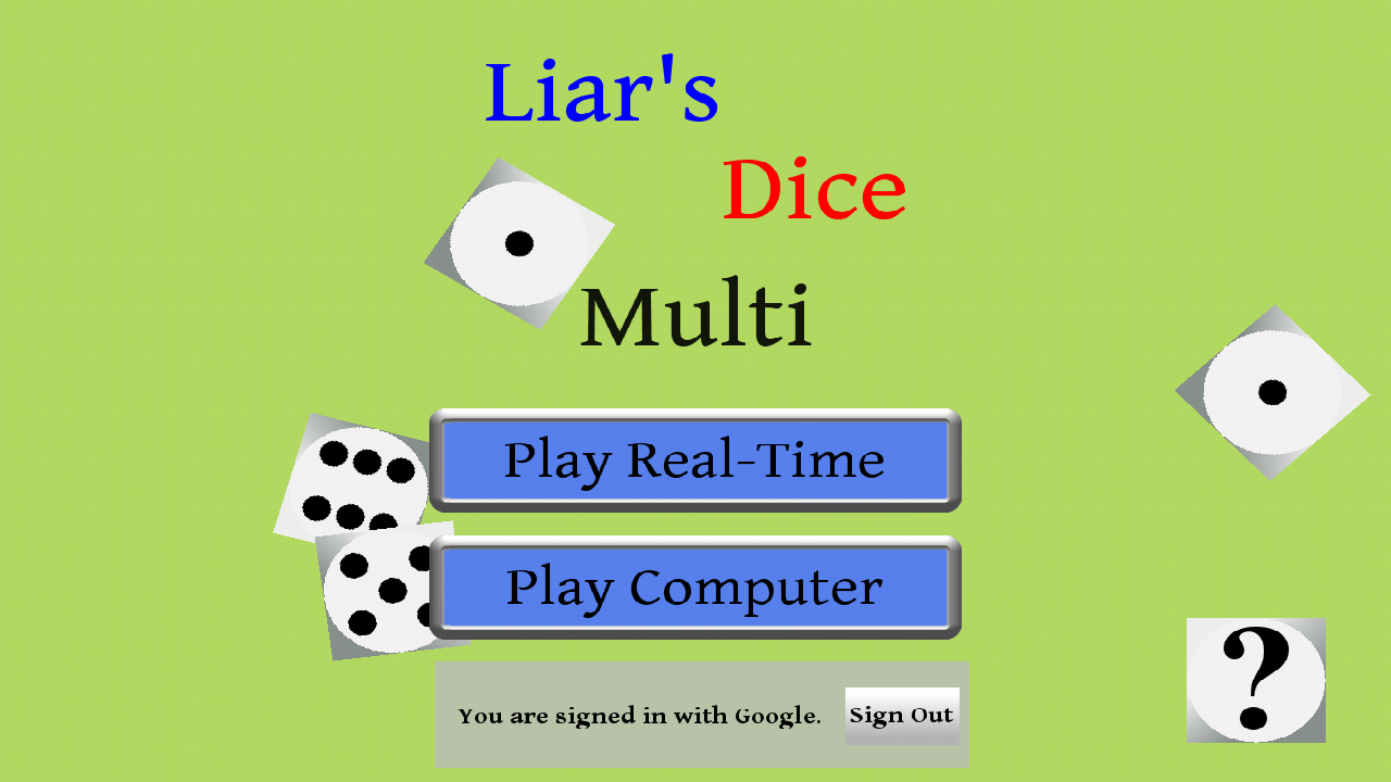 Liars Dice Multi - screenshot