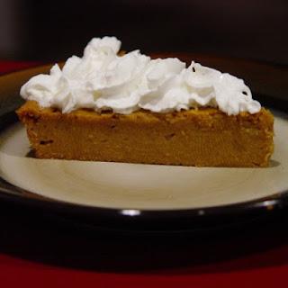 Impossible Pumpkin Pie.