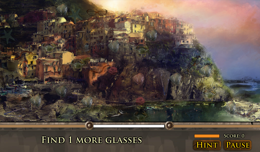 Hidden Object: Romantic Places- screenshot