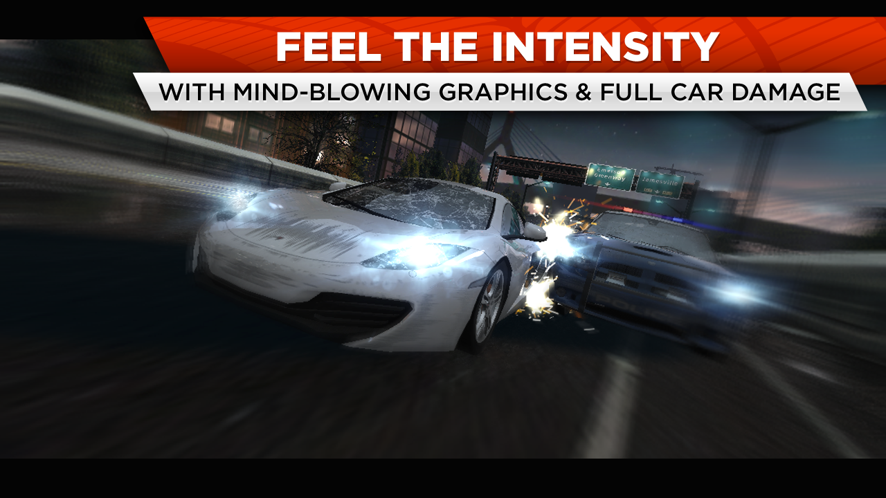 "Need for Speedв""ў Most Wanted - screenshot"