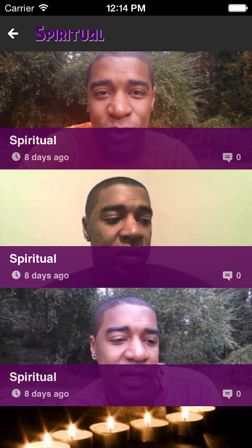 Spiritual - screenshot