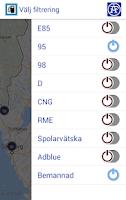 Screenshot of Bensinfinnaren