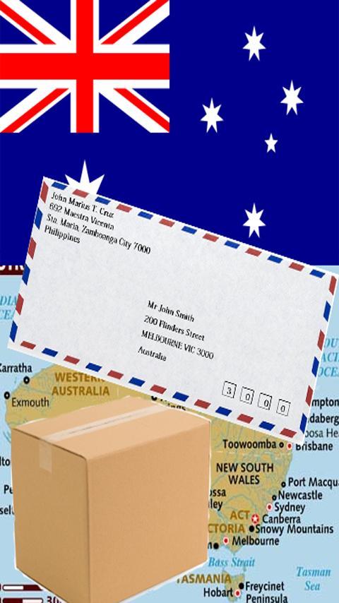 AUSTRALIA POSTAL CODE - screenshot