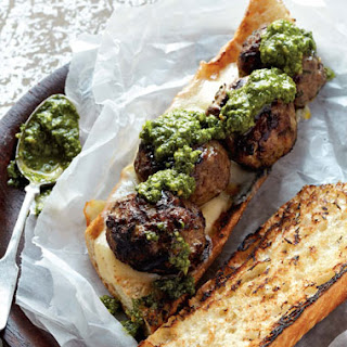 Grilled Meatball Sandwich