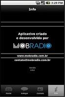Screenshot of Radio Olinda AM
