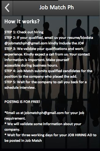 Job Match Ph