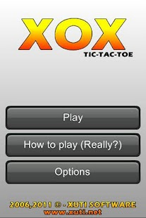 XOX - Tic Tac Toe- screenshot thumbnail