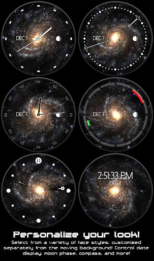 Galactic Core Watch Face