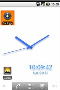 BGClock Live WallPaper - screenshot thumbnail