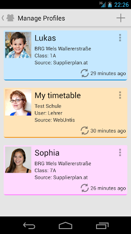 Screenshots for SchoolApp for Android