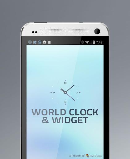 World Clock and Free Widget