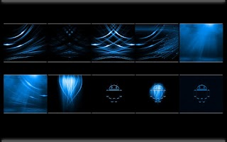 Screenshot of CrystalX HD Multi Theme Blue