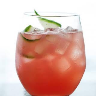 Watermelon-Cucumber Cooler.