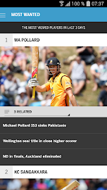 The ESPNcricinfo Cricket App Screenshot 6