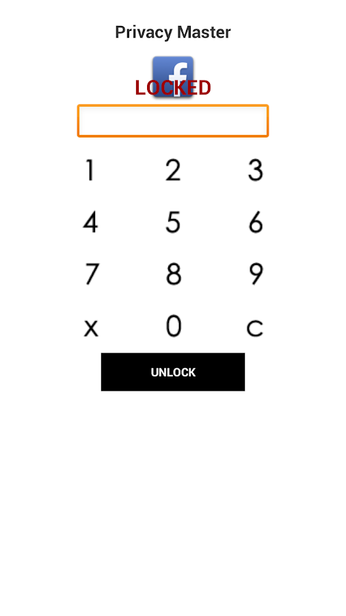 Privacy Master - Free AppLock - screenshot