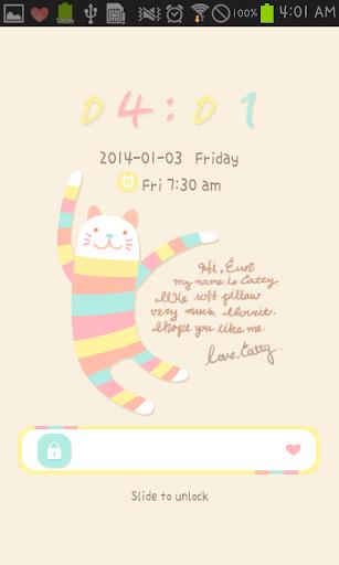 Hello catty go locker theme