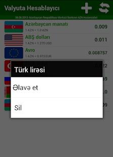 Valyuta Hesabla screenshot