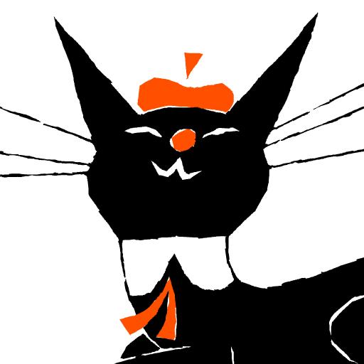 BlackCat Robin Rolling Rolling 漫畫 App LOGO-硬是要APP