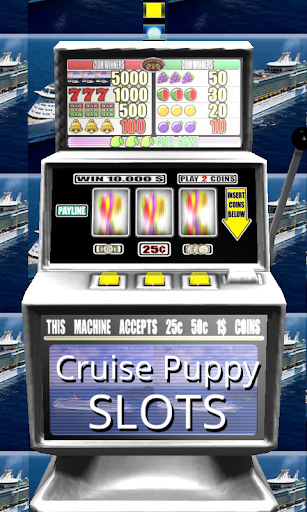 3D Cruise Puppy Slots