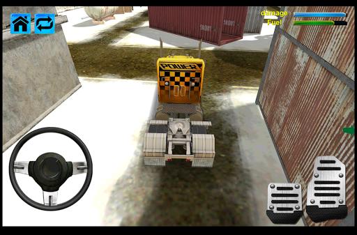 雪卡車司機模擬器