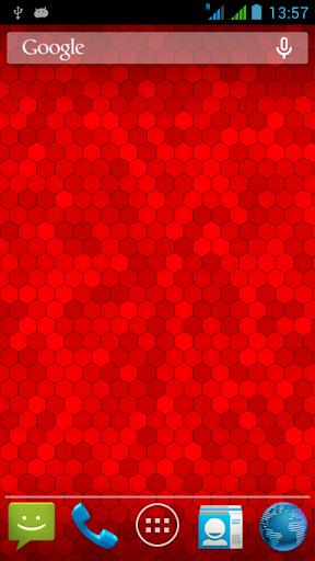 【免費個人化App】Hexagon Live Wallpaper-7-APP點子