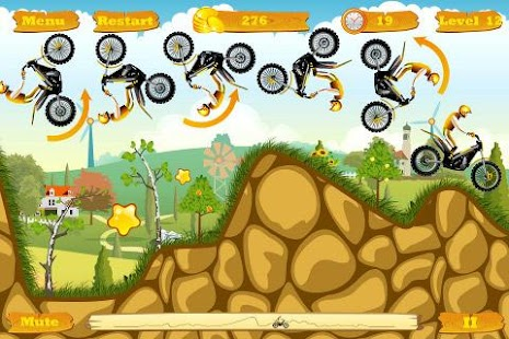 Moto Race Pro -- physics motorcycle racing game - náhled