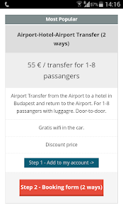 Budapest Airport Transfer- screenshot thumbnail