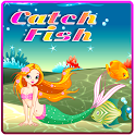 Catch Fish and Mermaid icon